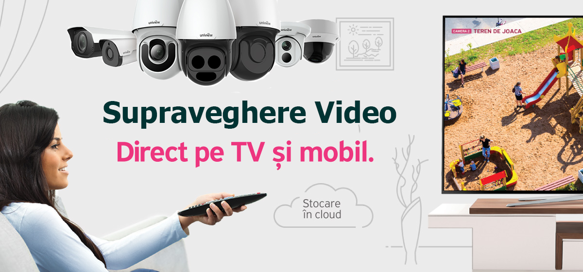 SUPRAVEGHERE VIDEO DIRECT PE DISPOZITIVELE MOBILE SI TV